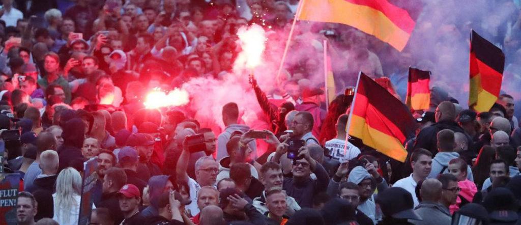 Au cœur des manifestations anti-immigration en Allemagne