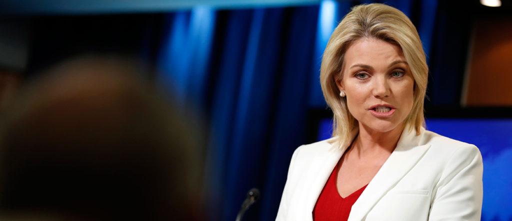 Heather Nauert, nouvelle ambassadrice des États-Unis à l'ONU
