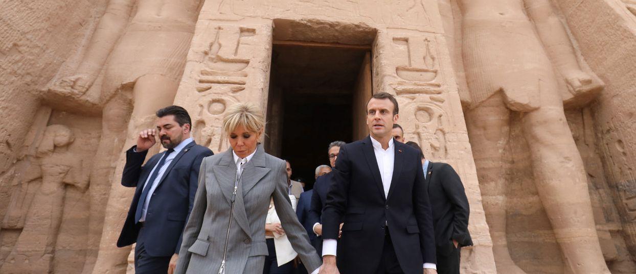 Emmanuel Macron au Caire pour parler économie, sécurité et diplomatie