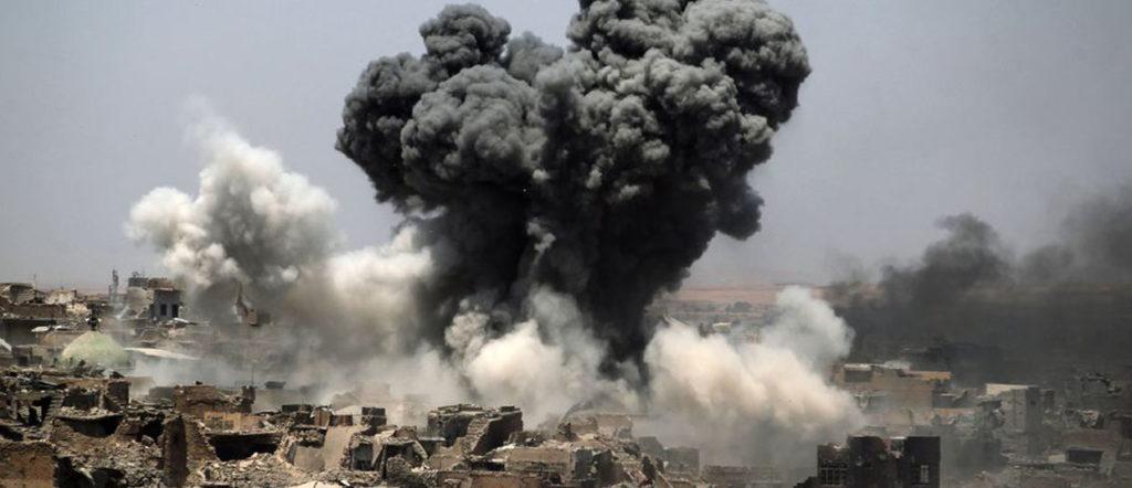 En Syrie, le dernier territoire de l'État islamique lutte contre la coalition internationale