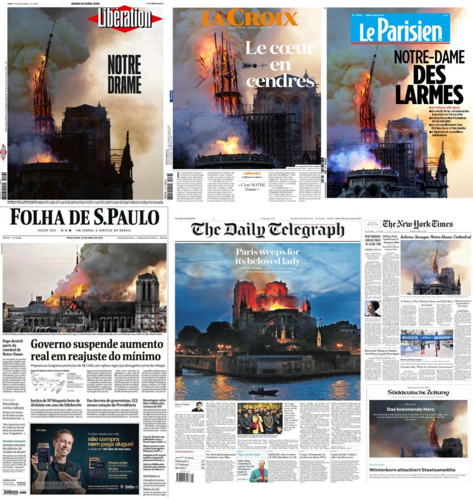 Notre Dame De Paris Dramatique Incendie Dun Monument