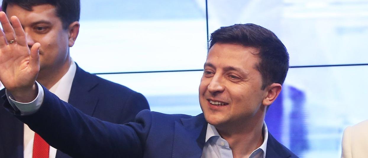 Volodymyr Zelensky, de Président à Président