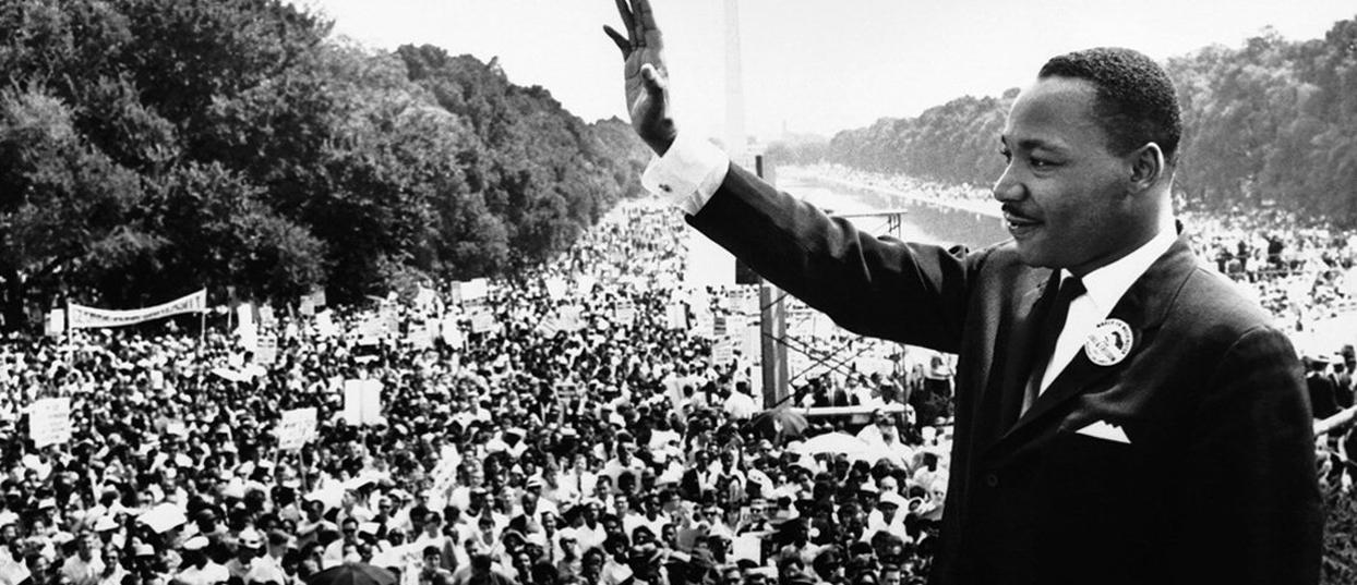 Martin Luther King, symbole de la lutte contre la ségrégation raciale